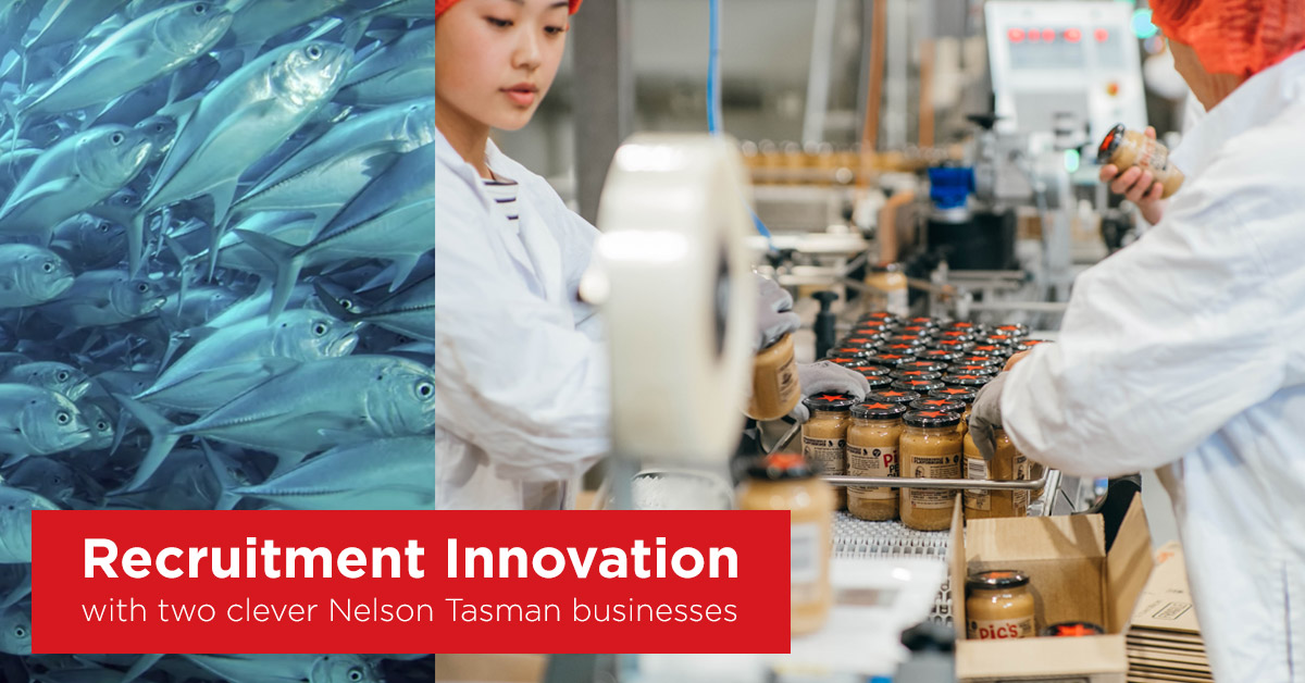 Recruitment Innovation with two clever Nelson Tasman businesses