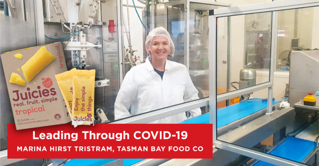 Intepeople Leadership Series - Leading Through COVID-19 - Tasman Bay Food Co