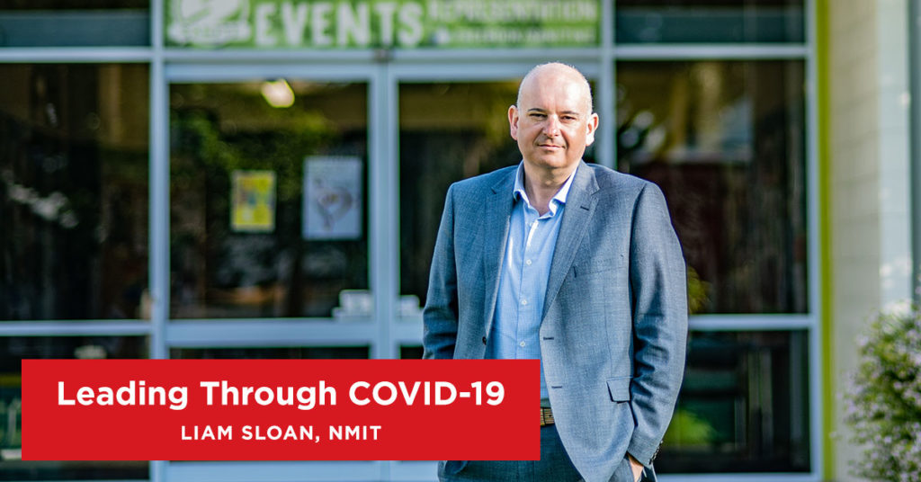 Leading Through COVID-19: Interview with Liam Sloan, NMIT - Intepeople Human Resources